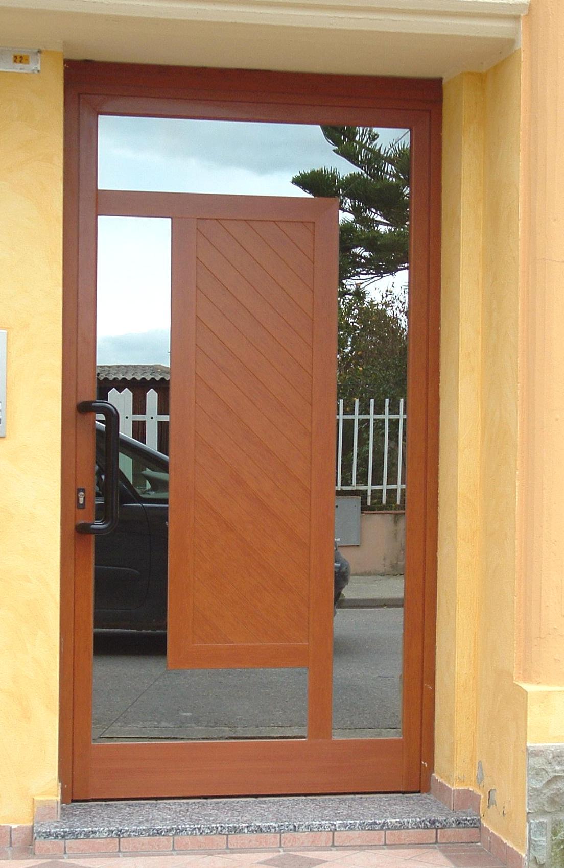 Portoncini ingresso idee per il design della casa - Portoncini ingresso legno alluminio prezzi ...
